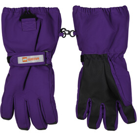 LEGO wear Lwatlin 700 Gloves Kids dark purple